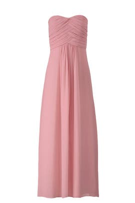 Cerise Jordan Gown by Monique Lhuillier Bridesmaid