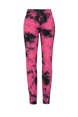 Pink Tie Dye Pants by No. 21
