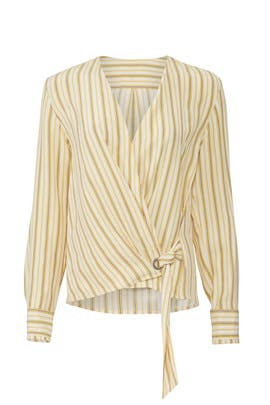 Ivory Felix Popover Top by rag & bone