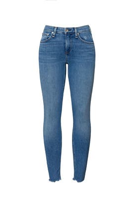 Palmer Cate Mid Rise Ankle Jeans by rag & bone JEAN