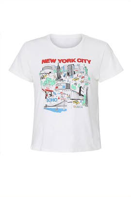 Classic New York City Tee by RE/DONE