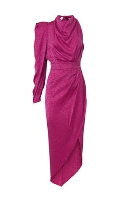 Lilly One Sleeve Dress by Ronny Kobo