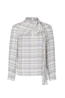 Plaid Etch Top by Rebecca Taylor