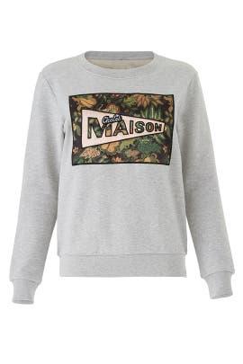 Chalet Maison Sweatshirt by Scotch & Soda