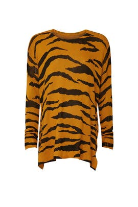 Great Tiger Bonfire Maternity Sweater by Show Me Your Mumu