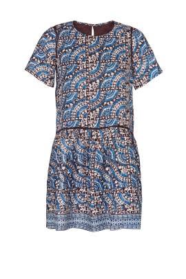 Blue Luella Day Dress by Sea New York