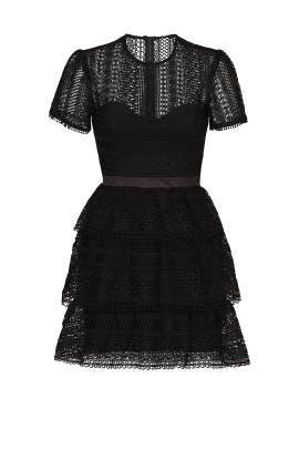 Ava Lace Dress by BARDOT