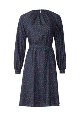 Geo Print Peasant Dress by Derek Lam Collective