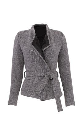 Grey Awa Jacket by Iro