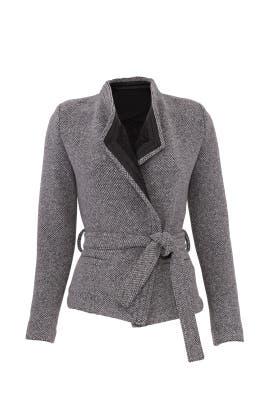 Grey Awa Jacket by Iro