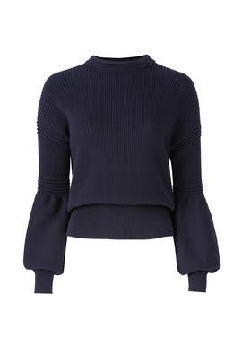 Sculpture Knit Sweater by The Fifth Label