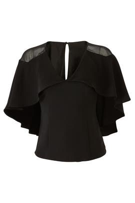 Dera Woven Cape Top by Adelyn Rae