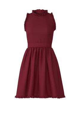 Cherry Ruffle Dress by kate spade new york