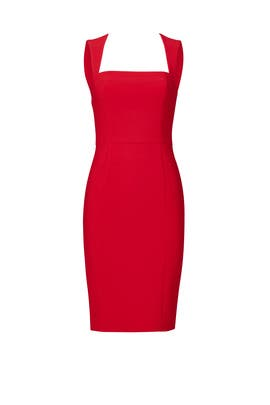 Red La Brea Dress by LIKELY