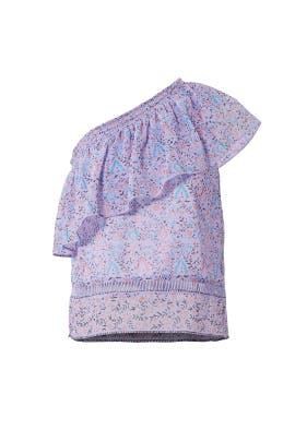 Purple Janice Top by Saylor