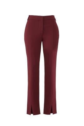 Red Beatle Menswear Pants by Tibi