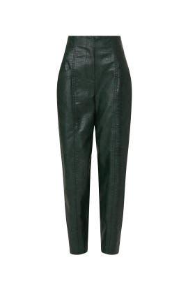 Kita Faux Leather Pants by Veronica Beard