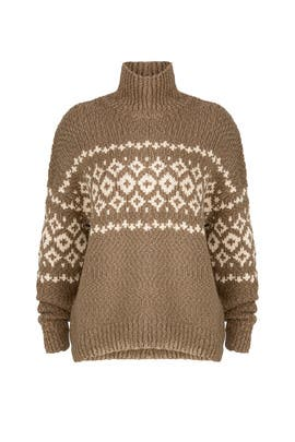 Fair Isle Sweater by VINCE.