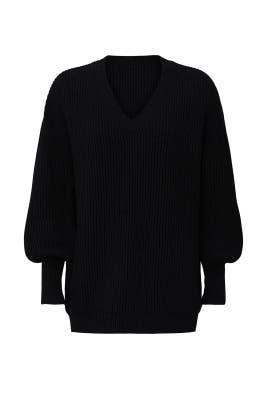 Napoli Oversized V-Neck Sweater by Apiece Apart