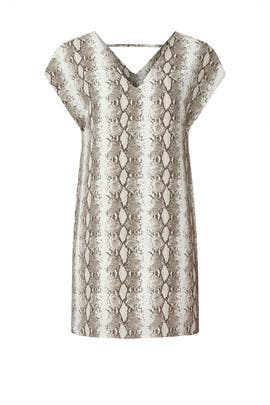 Snake Print Shift by Slate & Willow