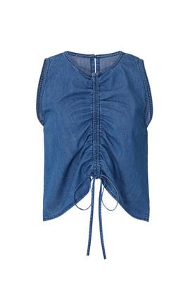 Corin Denim Top by 3x1