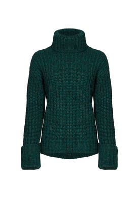 Green Clayton Sweater by Elizabeth and James