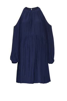 Navy Heather Maternity Dress by FOR 2 by Ramy Brook