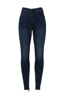 Blue Mile High Super Skinny Jeans by Levi's