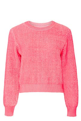 Plaited Stitch Sweater by Milly