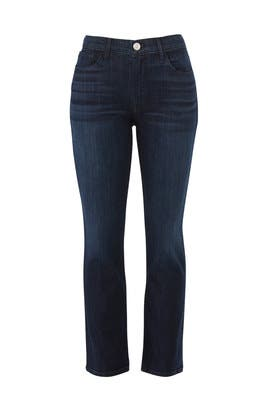 W2 Straight Crop Jeans by 3x1