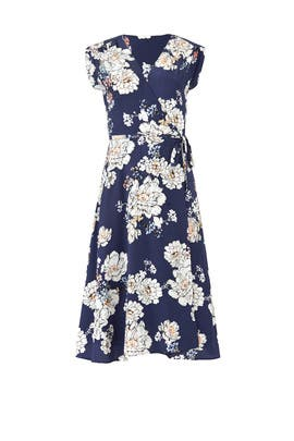 Prince Street Wrap Dress by Yumi Kim