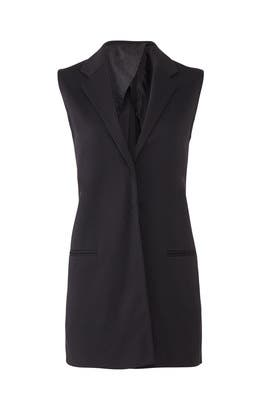 Notch Collar Vest by BLAQUE LABEL