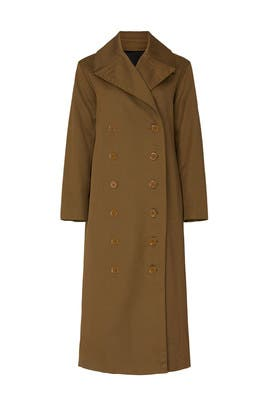 Ohdette Trench Coat by Club Monaco