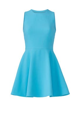 Aqua Blue Georgia Dress by Elizabeth and James