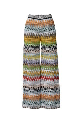 Zig Zag Knit Trousers by Missoni