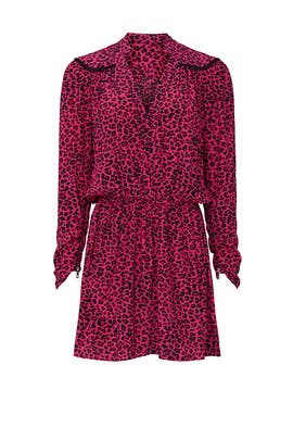 Leopard Reveal Dress by Zadig & Voltaire