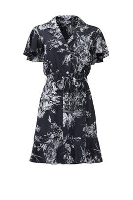 Floral Quincy Shirtdress by Cinq à Sept