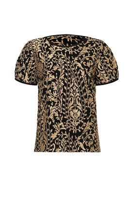 Printed Janpath Top by Joie