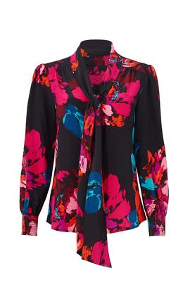 Floral True Top by Trina Turk