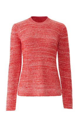 Bicolor Crew Neck Sweater by Derek Lam 10 Crosby