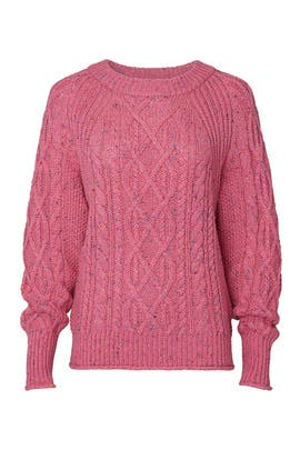 Scotty Bishop Cable Pullover by J.Crew