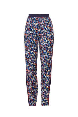 Navy Floral Track Pants by rag & bone