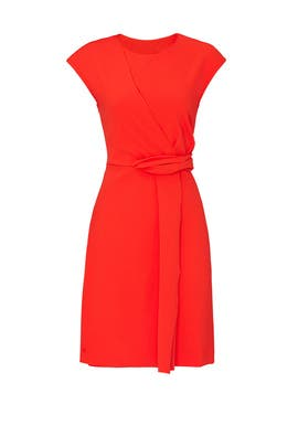 Knit Twist Dress by RACHEL ROY COLLECTION