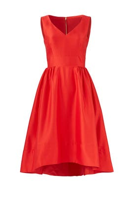 Red Heritage Dress by kate spade new york