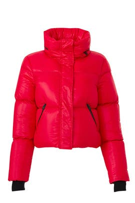 Red Mimi Jacket by Mackage