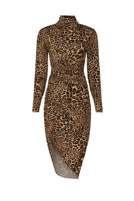 Cheetah Bruna Dress by Ronny Kobo