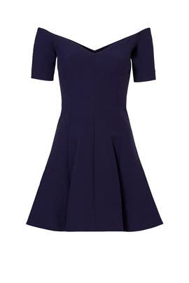 Navy Kenna Dress by Cinq à Sept