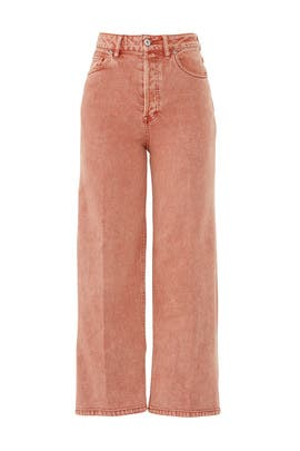 Wales Wide Leg Jeans by Free People