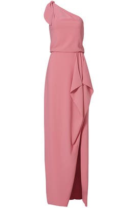 Peony Crepe Gown by Halston Heritage