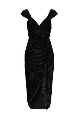 Black Sequin Farrah Dress by Saylor
